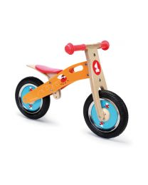Scratch - Balance Bike S - Racing Flies - Holz Laufrad
