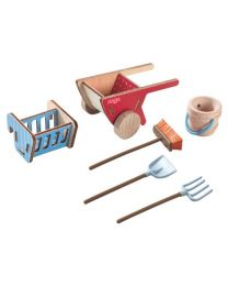 Haba - Little Friends - Spielset Pferdestall